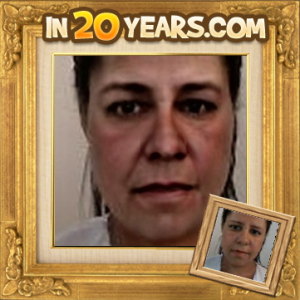 Jarcy Tania 20 anos mais velha