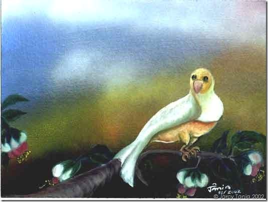 BIRD 1 - oleo s/ cartão preparado - 10/2002