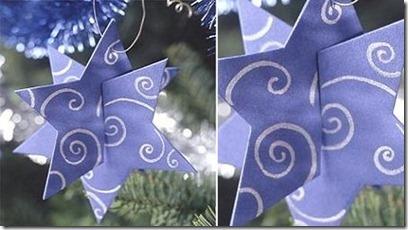 Enfeites de Natal com forma de estrela1