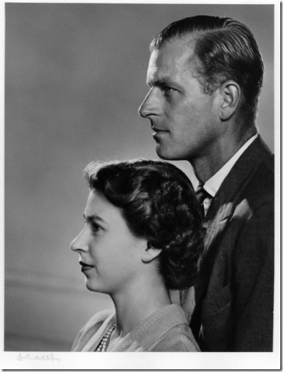 NPG P343; Queen Elizabeth II; Prince Philip, Duke of Edinburgh