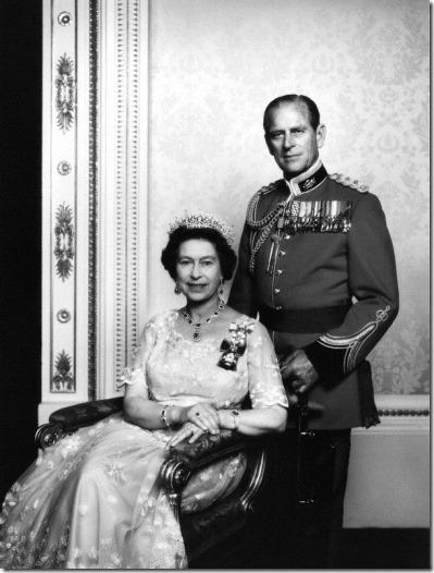 NPG P346; Queen Elizabeth II; Prince Philip, Duke of Edinburgh