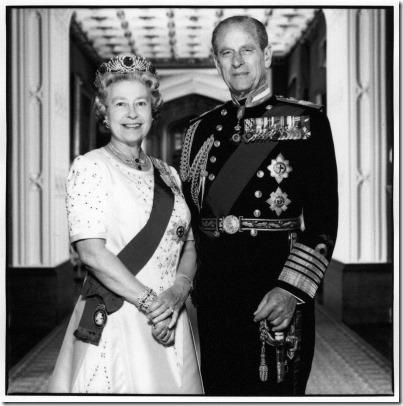 NPG P551; Queen Elizabeth II; Prince Philip, Duke of Edinburgh