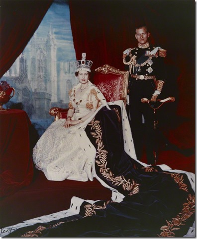 NPG P1458; Queen Elizabeth II; Prince Philip, Duke of Edinburgh
