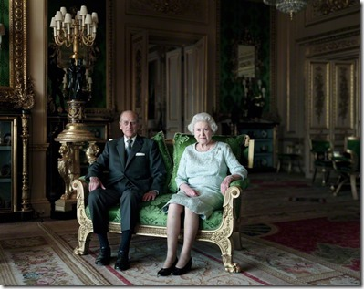 NPG P1665; Prince Philip, Duke of Edinburgh; Queen Elizabeth II
