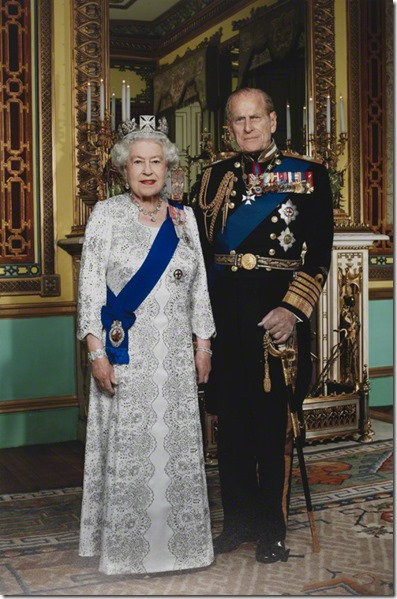 NPG P1703; Queen Elizabeth II;  Philip, Duke of Edinburgh