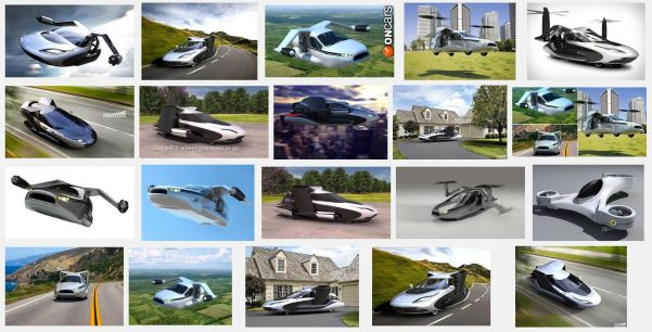 TF-X Future Flying Car