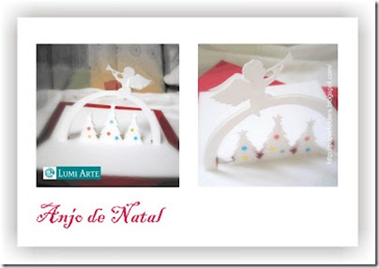 cartao_anjo de natal - christmas angel - kirigami