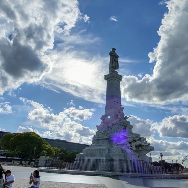 El monumento a Cristóbal Colón - @jarcytania